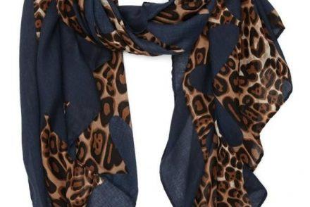 3696a757f5391c63d8ff3b14d09835da 440x294 - Leopard Shawl (Blue)
